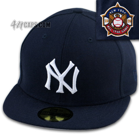 06d1acd3edf NEW YORK YANKEES NEW ERA 59FIFTY FITTED 1939 ALL STAR GAME (GRAY UNDER BRIM)