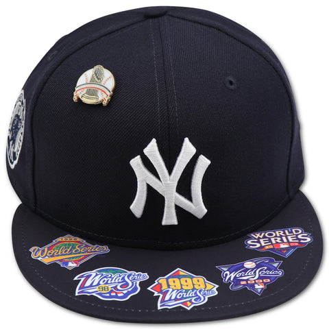 DEREK JETER YANKEES WORLDSERIES DYNASTY NEW ERA 59FIFTY FITTED