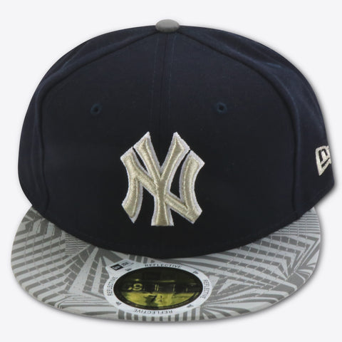 NEW YORK YANKEES PRINT TRANCE (REFLECTIVE BRIM) NEWERA 59FIFTY FITTED