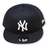 NEW YORK YANKEES (BLACK/WHITE) NEW ERA 9FIFTY SNAPBACK