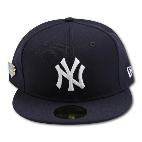 NEW YORK YANKEES 2000  WORLDSERIES PIN NEW ERA 59FIFTY FITTED (GREEN BRIM)