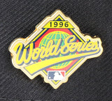 NEW YORK YANKEES 1996 WORLDSERIES PIN NEW ERA 59FIFTY FITTED (GREEN BRIM)