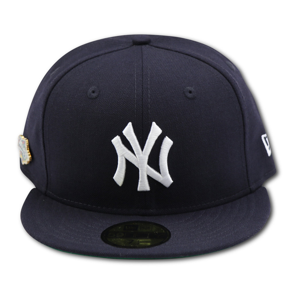 NEW YORK YANKEES 1998 WORLDSERIES PIN NEW ERA 59FIFTY FITTED (GREEN BR –  4ucaps.com e6f0a99fa6e