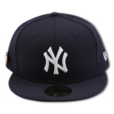 NEW YORK YANKEES 1999 WORLDSERIES PIN NEW ERA 59FIFTY FITTED (GREEN BRIM)