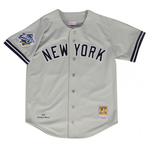 YANKEES MARIANO RIVERA MITCHELL & NESS  AUTHENTIC THROWBACK JERSEY