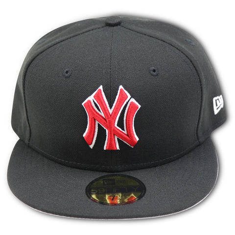 NEW YORK YANKEES NEW ERA (BLACK/RED) 59FIFTY FITTED