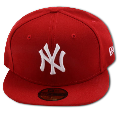 NEW YORK YANKEES (RED/WHITE) NEW ERA 59FIFTY FITTED