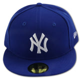NEW YORK YANKEES (ROYAL/WHITE) NEW ERA 59FIFTY FITTED