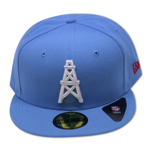 HOUSTON OILERS NEW ERA  59FIFTY FITTED (AIR JORDAN RETRO 4 TRAVIS SCOTT)