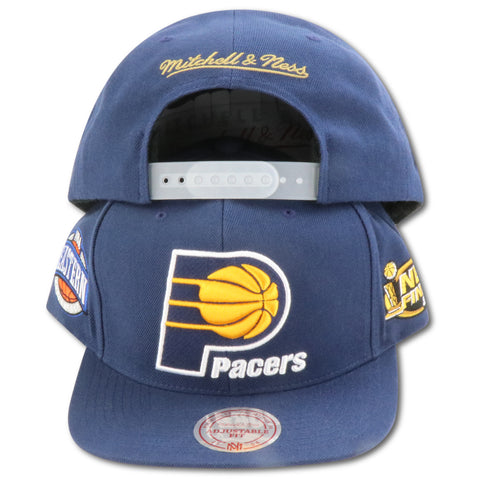 INDIANA PACERS 2000 FINALS MITCHELL & NESS SNAPBACK (090VZ)