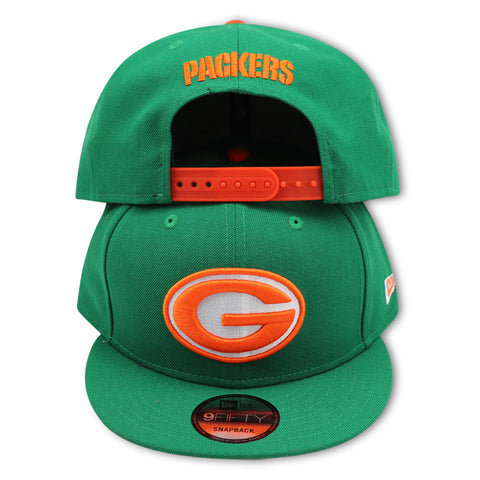 GREEN BAY PACKERS NEW ERA 9FIFTY SNAPBACK (AIR JORDAN 6 RETRO GATORADE)