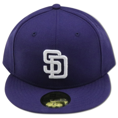 SAN DIEGO PADRES 2006 HOME NEW ERA 59FIFTY FITTED