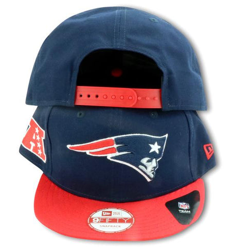 NEW ENGLAND PATRIOTS 2TONE NEWERA 9FIFTY SNAPBACK