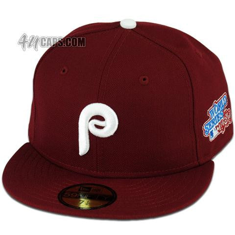 PHILADELPHIA PHILLIES 1980 WORLD SERIES NEW ERA 59FIFTY FITTED