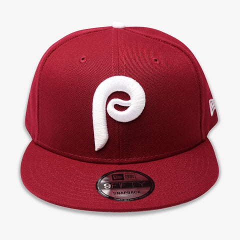 PHILADELPHIA PHILLIES (BURGUNDY) NEW ERA 9FIFTY SNAPBACK