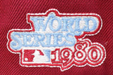 PHILADELPHIA PHILLIES 1980 WORLDSERIES NEW ERA 59FIFTY FITTED