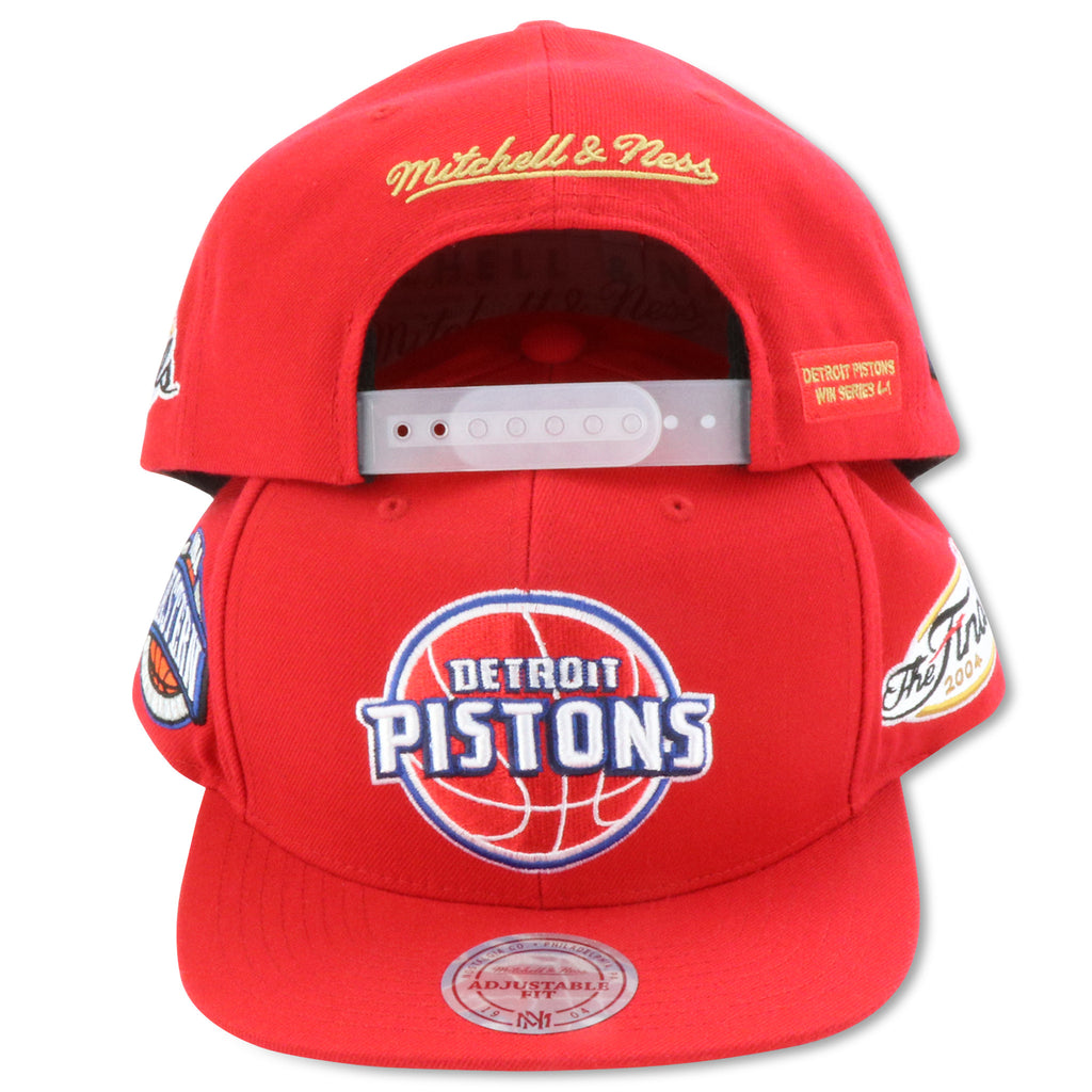 buy popular 0ae7c 47198 DETRIOT PISTONS 2004 FINALS MITCHELL   NESS SNAPBACK (094VZ) – 4ucaps.com