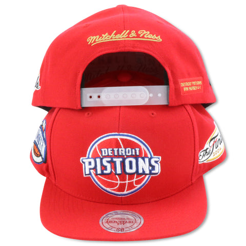 DETRIOT PISTONS 2004 FINALS MITCHELL & NESS SNAPBACK (094VZ)