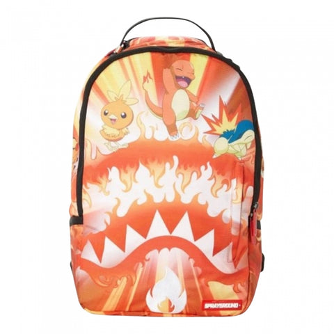 SPRAYGROUND POKEMON FIRE SHARK BACKPACK