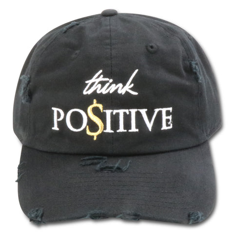 MIGHTY NYC THINK POSITIVE $$$ DAD HAT