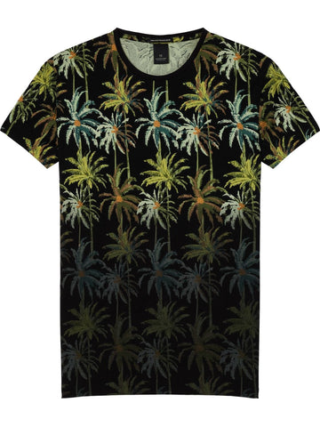 SCOTCH&SODA POOLSIDE ALLOVER PRINT TEE