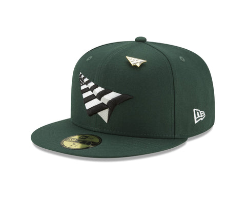 PAPER PLANES GREEN OG CROWN SNAPBACK