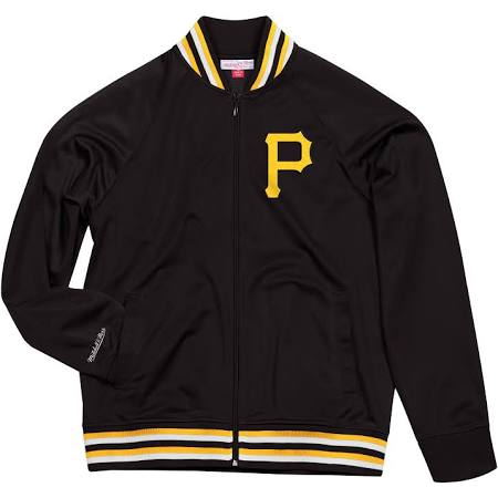 PITTSBURGH PIRATES TOP PROSPECT MITCHELL & NESS TRACK JACKET