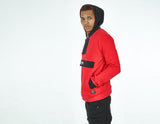 APPRV POGBA FRENCH TERRY RED/BLACK HOODIE