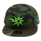 "WEST VIRGINA POWER NEW ERA 59FIFTY FITTED (FOAMPOSITE ""CAMO"")"