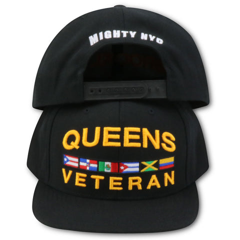 QUEENS VETERAN MIGHTY NYC SNAPBACK