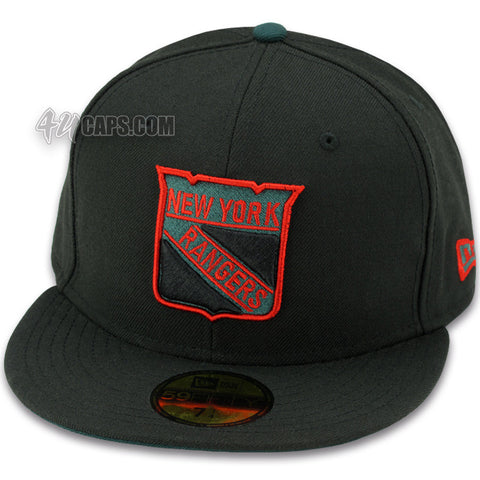 NEW YORK RANGERS NEW ERA 59FIFITY FITTED HAT (GUCCI COLORS)