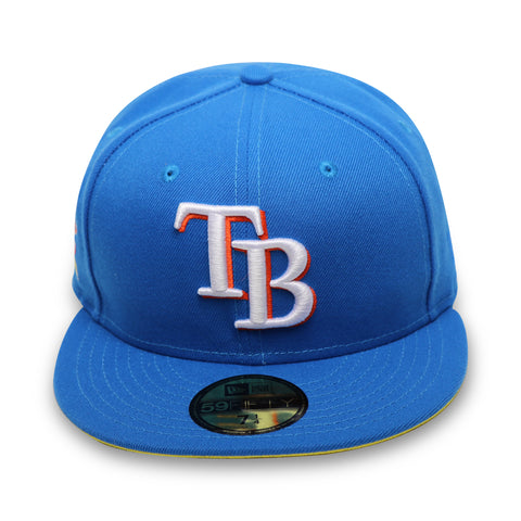 "TAMPA BAY DEVILRAYS ""2017 ASG ""REVERSE RIVALRY) NEW ERA 59FIFTY FITTED (YELLOW BOTTOM)"