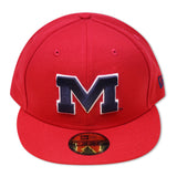MISSISSIPPI REBELS NEW ERA 59FIFTY FITTED