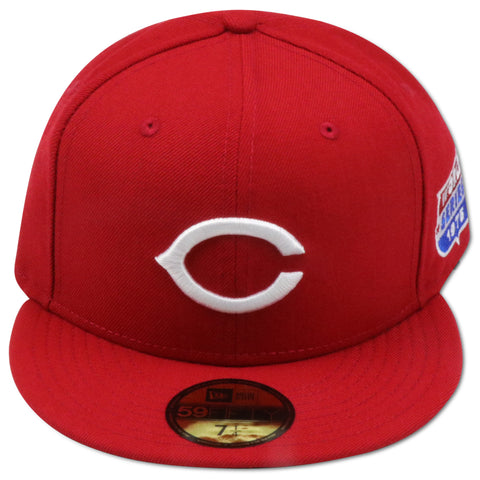 CINCINNATI REDS 1975 WORLDSERIES NEW ERA 59FIFTY FITTED (GREEN BRIM)