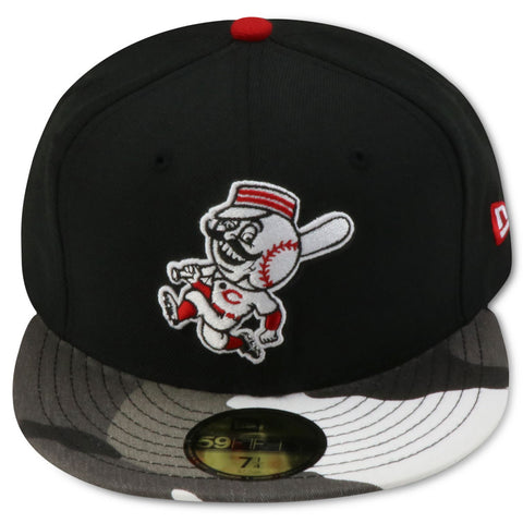 CINCINNATI REDS NEW ERA 59FIFTY FITTED (WHITE CAMO BRIM)