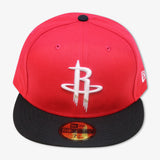 HOUSTON ROCKETS 2-TONE NEW ERA 59FIFTY FITTED