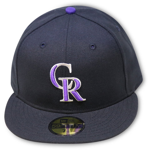 COLORADO ROCKIES 1999-2006 GAME NEW ERA 59FIFTY FITTED