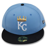 KANSAS CITY ROYALS NEW ERA 59FIFTY FITTED (AIR JORDAN 12 RETRO)