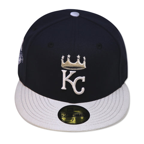 "KANSAS CITY ROYALS  ""2015 CHAMPIONS"" NEW ERA 59FIFTY FITTED (AIR JORDAN 1 NAVY)"