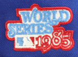 KANSAS CITY ROYALS 1985 WORLD SERIES NEW ERA 59FIFTY FITTED