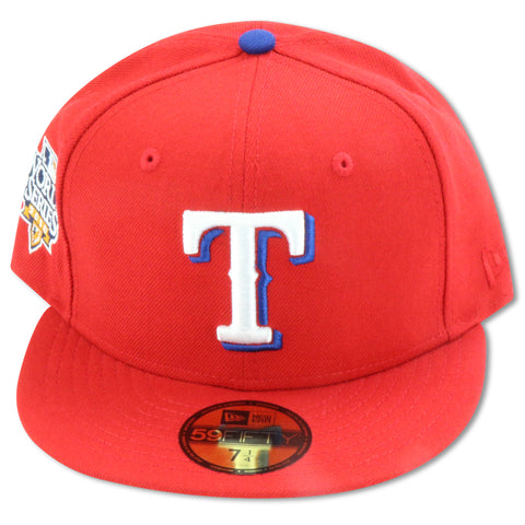 TEXAS RANGERS 2010 WORLD SERIES NEW ERA 59FIFTY FITTED
