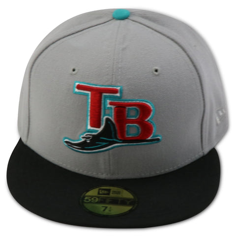 finest selection 88461 d5635 TAMPA BAY DEVIL RAYS NEW ERA 59FIFTY FITTED