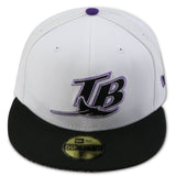 TAMPA BAY DEVIL RAYS NEW ERA 59FIFTY FITTED (AIR JORDAN 2 RETRO)