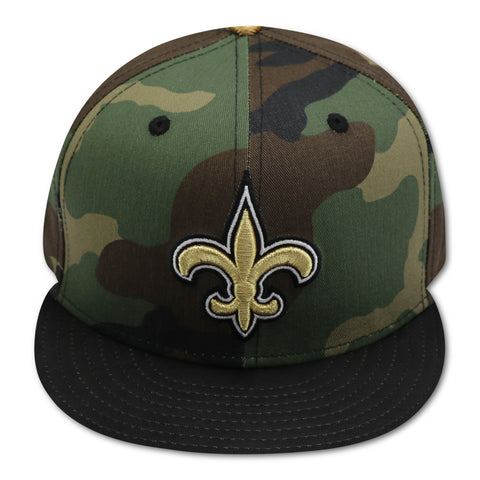 NEW ORLEAN SAINTS NEW ERA  59FIFTY CAMO FITTED