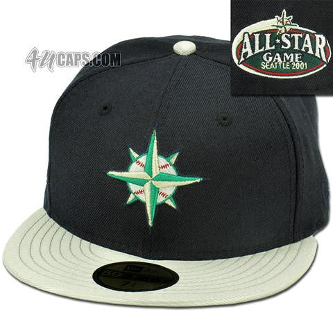 SEATTLE MARINERS 2001 ALL STAR NEW ERA 59FIFTY FITTED