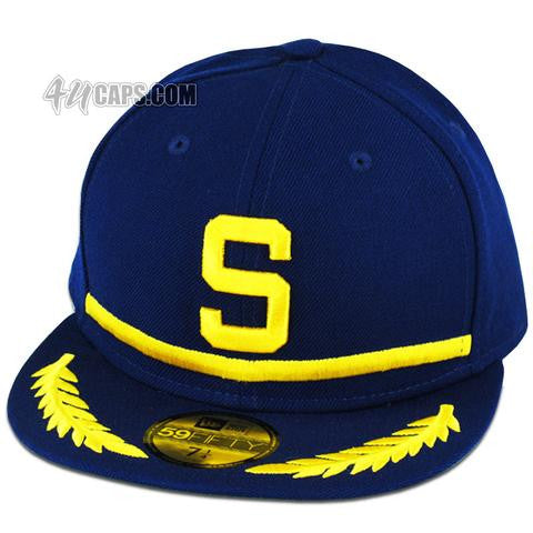 seattle pilots 1969 new era 59fifty fitted green under brim