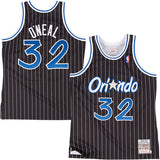 SHAQUILLE O'NEAL MITCHELL & NESS #32 JERSEY (BLUE FOAMS)