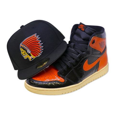 SKULL GANG NEW ERA 59FIFTY FITTED (AIR JORDAN 1 RETRO SHATTER BACKBOARD)