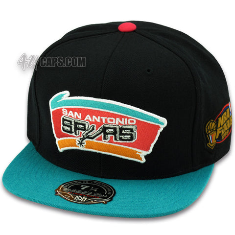 SAN ANTONIO SPURS MITCHELL & NESS 1999 FINALS FITTED
