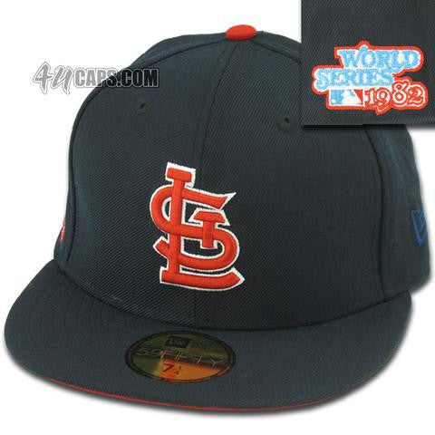 ST. LOUIS CARDINALS 1982 WORLD SERIES NEW ERA 59FIFTY FITTED